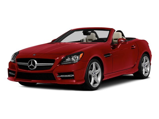 Mars Red 2015 Mercedes-Benz SLK-Class Pictures SLK-Class Roadster 2D SLK250 I4 Turbo photos front view