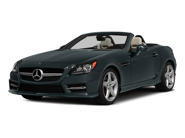 Steel Gray Metallic 2015 Mercedes-Benz SLK-Class Pictures SLK-Class Roadster 2D SLK250 I4 Turbo photos front view