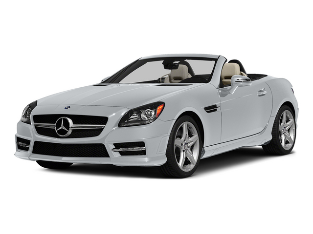 Diamond Silver Metallic 2015 Mercedes-Benz SLK-Class Pictures SLK-Class Roadster 2D SLK250 I4 Turbo photos front view