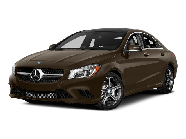 Cocoa Brown Metallic 2015 Mercedes-Benz CLA-Class Pictures CLA-Class Sedan 4D CLA250 AWD I4 Turbo photos front view