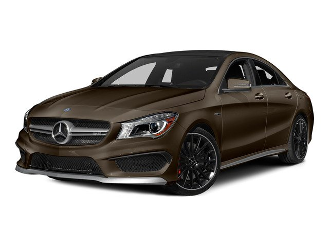 Cocoa Brown Metallic 2015 Mercedes-Benz CLA-Class Pictures CLA-Class Sedan 4D CLA45 AMG AWD I4 Turbo photos front view