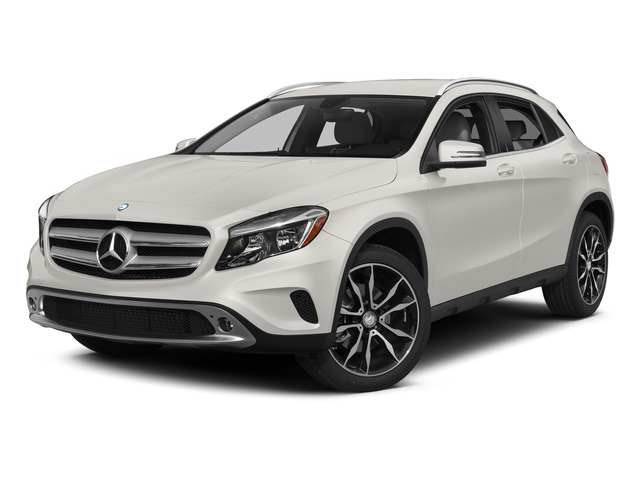 Cirrus White 2015 Mercedes-Benz GLA-Class Pictures GLA-Class Utility 4D GLA250 AWD I4 Turbo photos front view