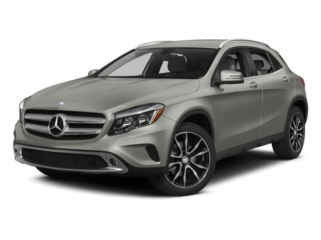 Polar Silver Metallic 2015 Mercedes-Benz GLA-Class Pictures GLA-Class Utility 4D GLA250 AWD I4 Turbo photos front view