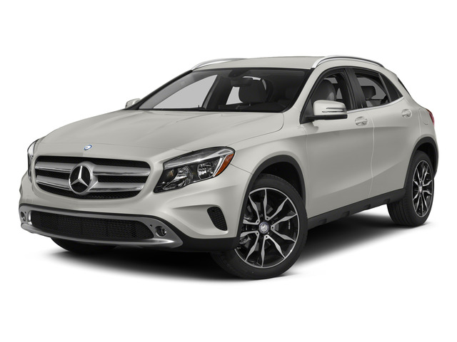 Pearl Silver Metallic 2015 Mercedes-Benz GLA-Class Pictures GLA-Class Utility 4D GLA250 AWD I4 Turbo photos front view