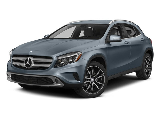 Universe Blue Metallic 2015 Mercedes-Benz GLA-Class Pictures GLA-Class Utility 4D GLA250 AWD I4 Turbo photos front view