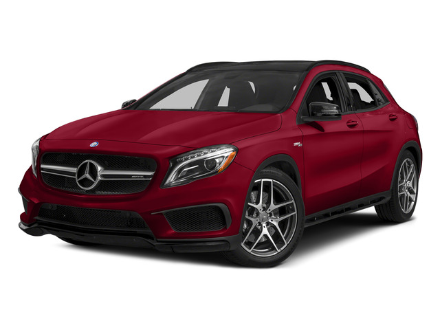 Jupiter Red 2015 Mercedes-Benz GLA-Class Pictures GLA-Class Utility 4D GLA45 AMG AWD I4 Turbo photos front view