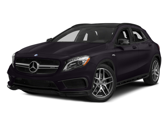 Northern Lights Violet Metallic 2015 Mercedes-Benz GLA-Class Pictures GLA-Class Utility 4D GLA45 AMG AWD I4 Turbo photos front view