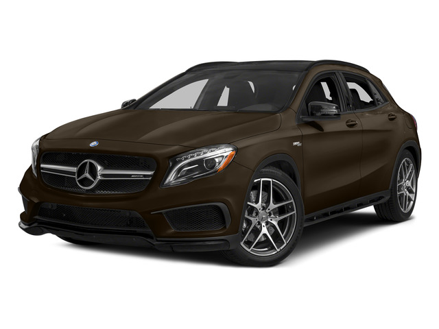 Cocoa Brown Metallic 2015 Mercedes-Benz GLA-Class Pictures GLA-Class Utility 4D GLA45 AMG AWD I4 Turbo photos front view