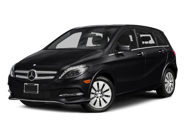Night Black 2015 Mercedes-Benz B-Class Pictures B-Class Hatchback 5D Electric Drive photos front view