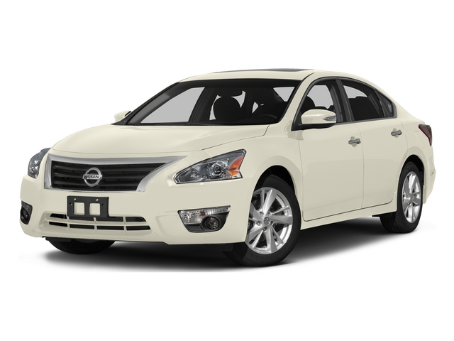 Pearl White 2015 Nissan Altima Pictures Altima Sedan 4D SL V6 photos front view