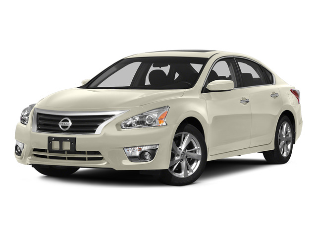 Pearl White 2015 Nissan Altima Pictures Altima Sedan 4D SV I4 photos front view