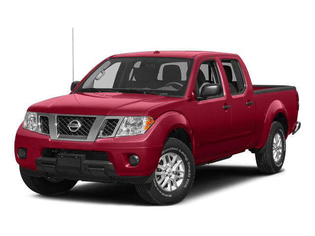 Lava Red 2015 Nissan Frontier Pictures Frontier Crew Cab Desert Runner 2WD photos front view
