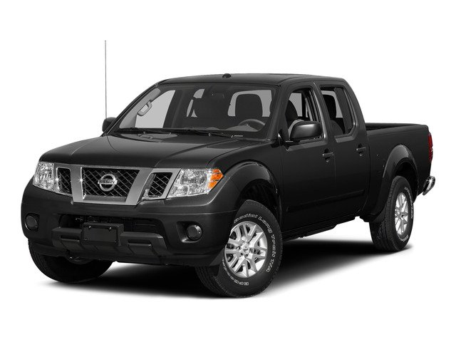 Super Black 2015 Nissan Frontier Pictures Frontier Crew Cab SV 2WD photos front view