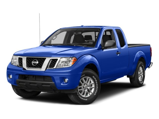 Metallic Blue 2015 Nissan Frontier Pictures Frontier King Cab PRO-4X 4WD photos front view