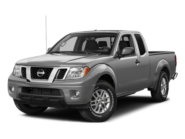 Brilliant Silver 2015 Nissan Frontier Pictures Frontier King Cab PRO-4X 4WD photos front view