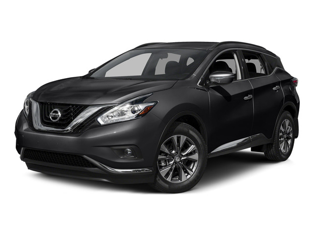 Magnetic Black Metallic 2015 Nissan Murano Pictures Murano Utility 4D S 2WD V6 photos front view