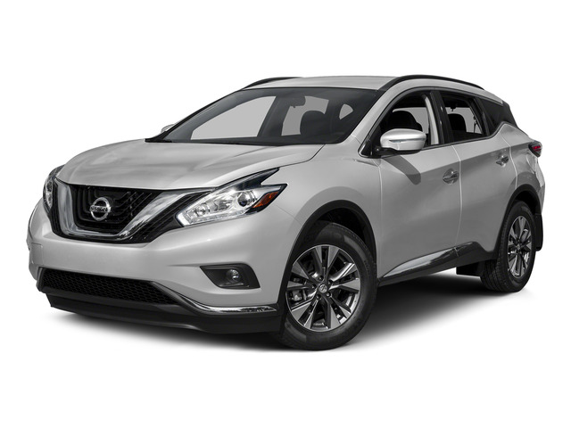 Brilliant Silver Metallic 2015 Nissan Murano Pictures Murano Utility 4D S 2WD V6 photos front view