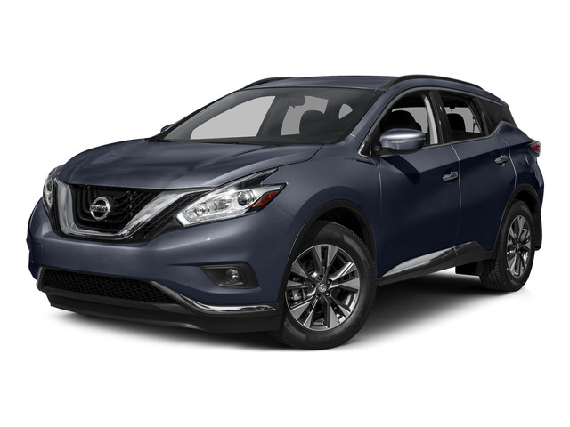 Arctic Blue Metallic 2015 Nissan Murano Pictures Murano Utility 4D SV 4WD V6 photos front view