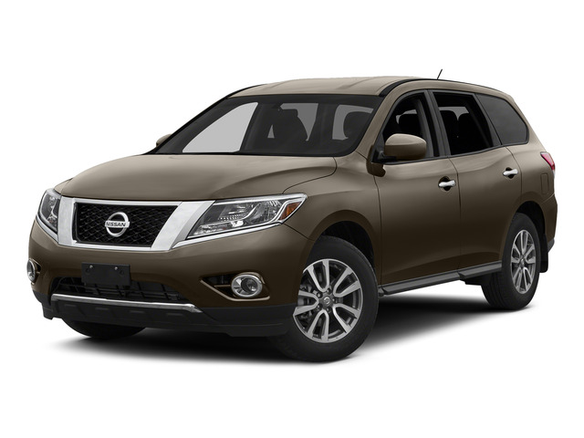Java Metallic 2015 Nissan Pathfinder Pictures Pathfinder Utility 4D S 4WD V6 photos front view