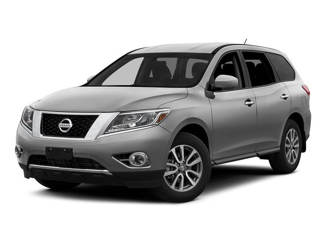 Brilliant Silver 2015 Nissan Pathfinder Pictures Pathfinder Utility 4D S 4WD V6 photos front view