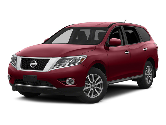 Cayenne Red 2015 Nissan Pathfinder Pictures Pathfinder Utility 4D S 4WD V6 photos front view