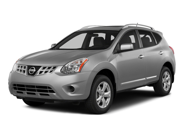 Brilliant Silver 2015 Nissan Rogue Select Pictures Rogue Select Utility 4D S 2WD I4 photos front view