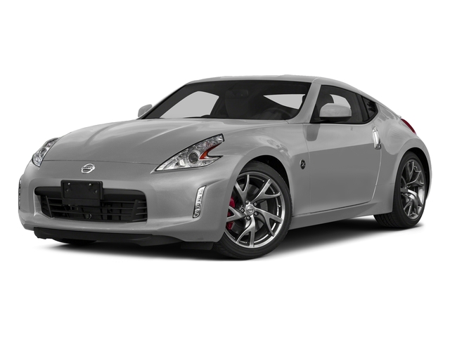 Brilliant Silver Metallic 2015 Nissan 370Z Pictures 370Z Coupe 2D V6 photos front view