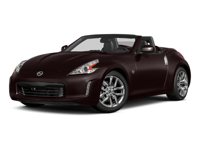 Black Cherry Metallic 2015 Nissan 370Z Pictures 370Z Roadster 2D Touring Sport V6 photos front view