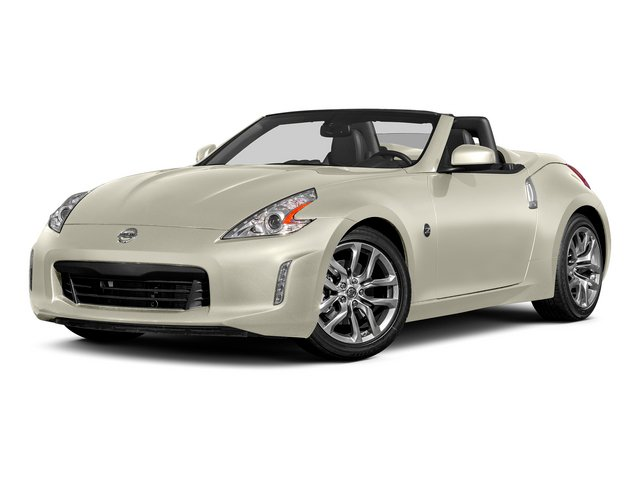 Pearl White 2015 Nissan 370Z Pictures 370Z Roadster 2D Touring Sport V6 photos front view