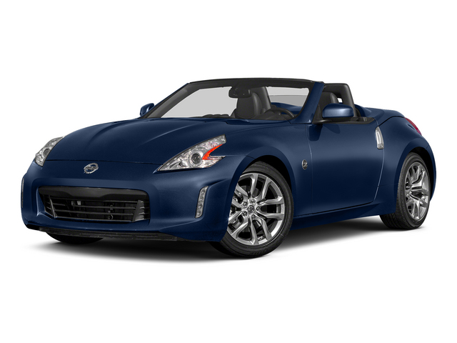 Midnight Blue Metallic 2015 Nissan 370Z Pictures 370Z Roadster 2D Touring Sport V6 photos front view
