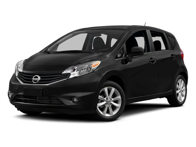 Super Black 2015 Nissan Versa Note Pictures Versa Note Hatchback 5D Note S Plus I4 photos front view