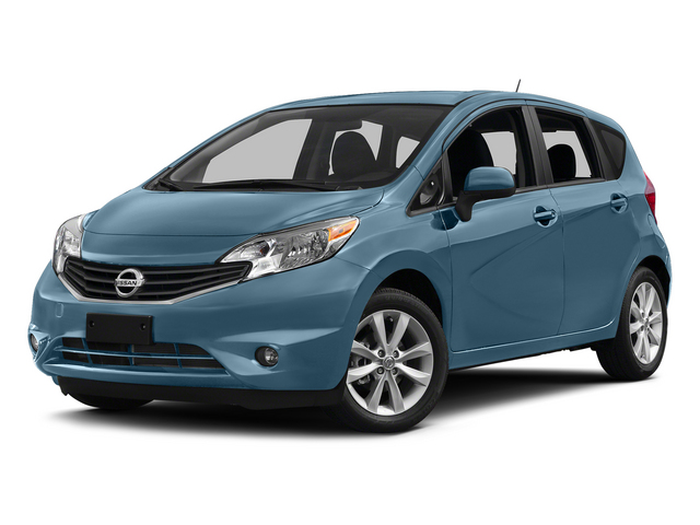 Morningsky Blue Metallic 2015 Nissan Versa Note Pictures Versa Note Hatchback 5D Note S Plus I4 photos front view