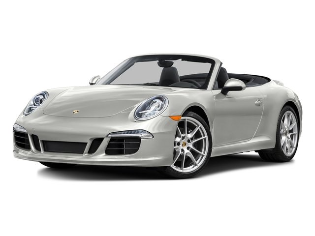 White 2015 Porsche 911 Pictures 911 Cabriolet 2D H6 photos front view