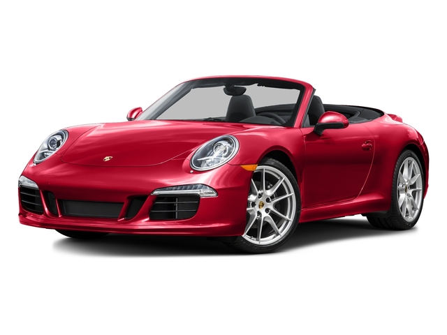 Guards Red 2015 Porsche 911 Pictures 911 Cabriolet 2D H6 photos front view