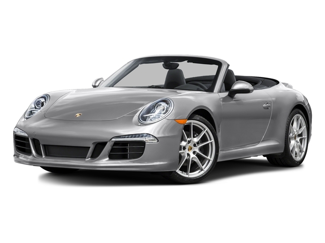 GT Silver Metallic 2015 Porsche 911 Pictures 911 Cabriolet 2D H6 photos front view