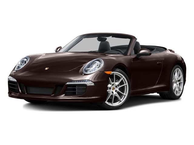 Mahogany Metallic 2015 Porsche 911 Pictures 911 Cabriolet 2D H6 photos front view