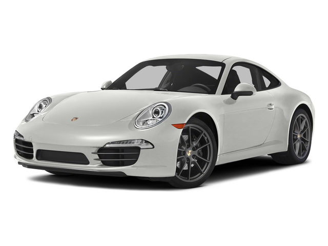 White 2015 Porsche 911 Pictures 911 Coupe 2D 4 AWD H6 photos front view