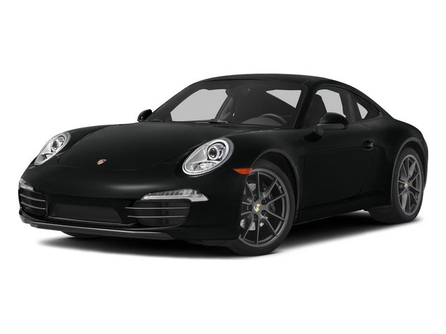 Jet Black Metallic 2015 Porsche 911 Pictures 911 Coupe 2D 4 AWD H6 photos front view