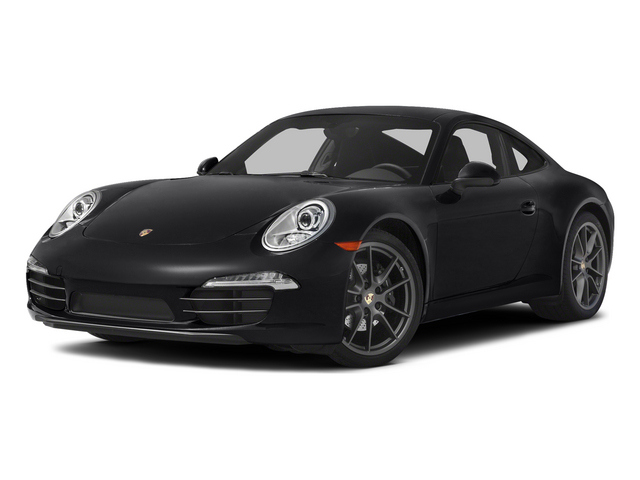 Black 2015 Porsche 911 Pictures 911 Coupe 2D 4 AWD H6 photos front view