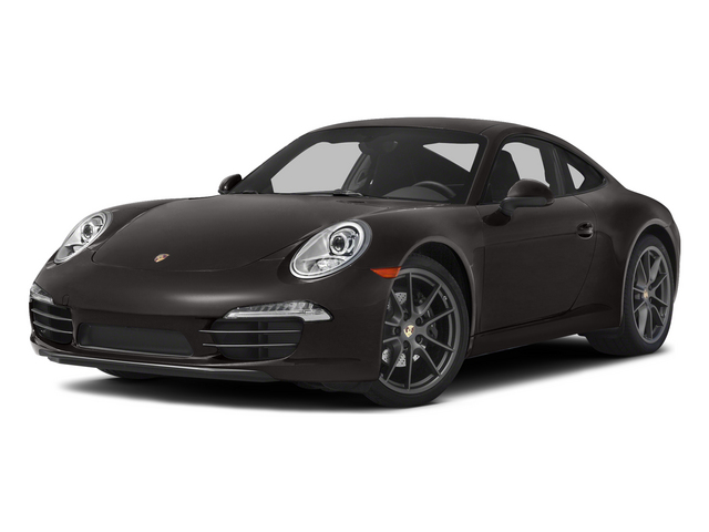 Anthracite Brown Metallic 2015 Porsche 911 Pictures 911 Coupe 2D 4 AWD H6 photos front view