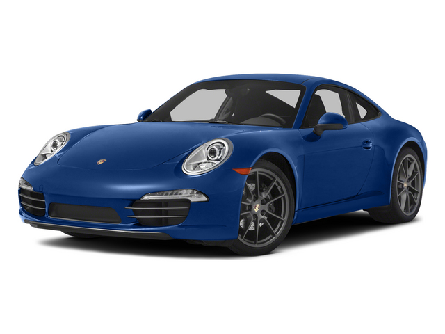Sapphire Blue Metallic 2015 Porsche 911 Pictures 911 Coupe 2D 4 AWD H6 photos front view