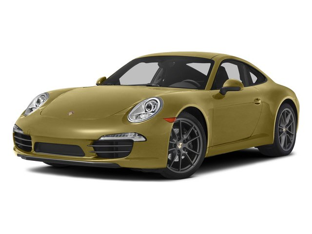 Lime Gold Metallic 2015 Porsche 911 Pictures 911 Coupe 2D 4 AWD H6 photos front view
