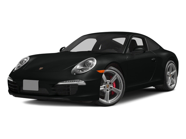 Jet Black Metallic 2015 Porsche 911 Pictures 911 Coupe 2D S H6 photos front view