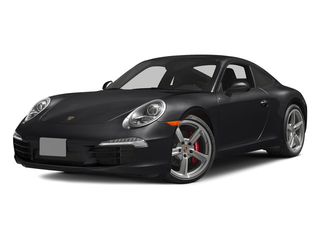 Black 2015 Porsche 911 Pictures 911 Coupe 2D S H6 photos front view