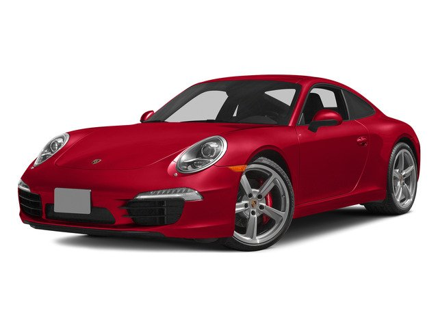 Guards Red 2015 Porsche 911 Pictures 911 Coupe 2D S H6 photos front view
