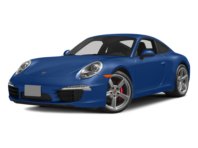 Sapphire Blue Metallic 2015 Porsche 911 Pictures 911 Coupe 2D S H6 photos front view