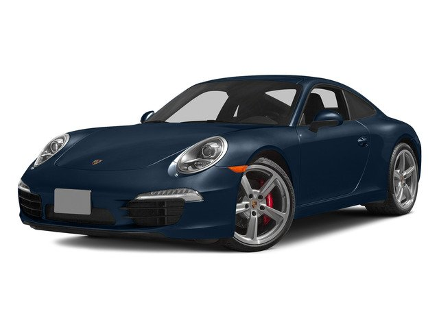 Dark Blue Metallic 2015 Porsche 911 Pictures 911 Coupe 2D S H6 photos front view