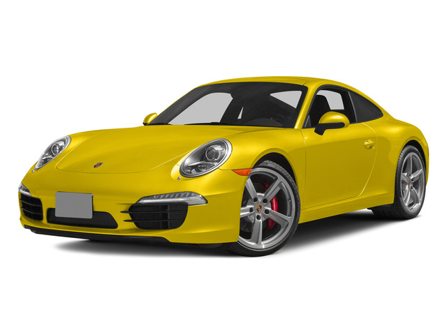 Racing Yellow 2015 Porsche 911 Pictures 911 Coupe 2D S H6 photos front view