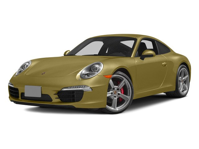 Lime Gold Metallic 2015 Porsche 911 Pictures 911 Coupe 2D S H6 photos front view