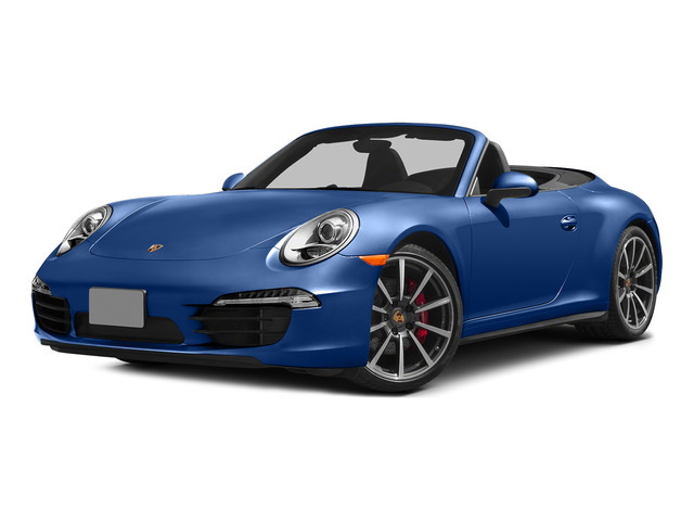 Sapphire Blue Metallic 2015 Porsche 911 Pictures 911 Cabriolet 2D 4 GTS AWD H6 photos front view